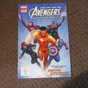 Avengers Assemble Custom Edition Comic